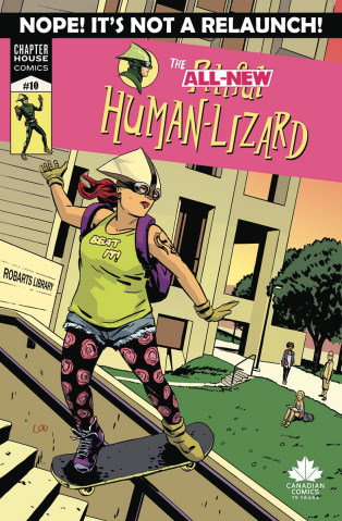 The Pitiful Human-Lizard #10 (Loo Cover)