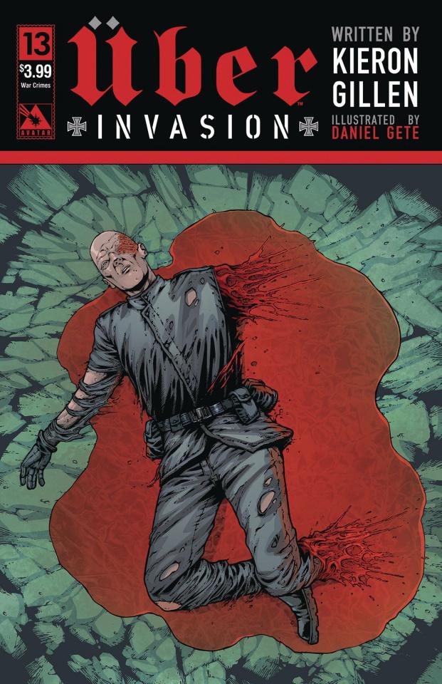 Über: Invasion #13 (War Crimes Cover)