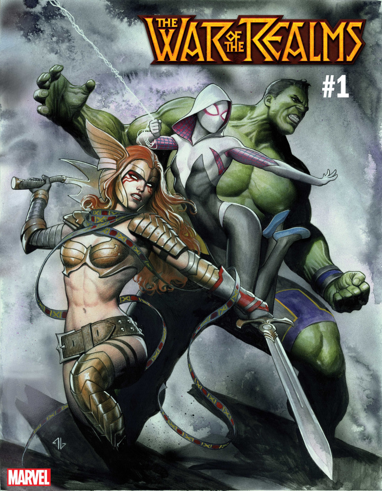 The War of the Realms #1 (Granov Cover)