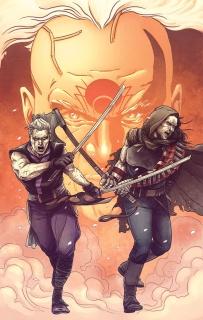 Ninjak #20 (Laming Cover)