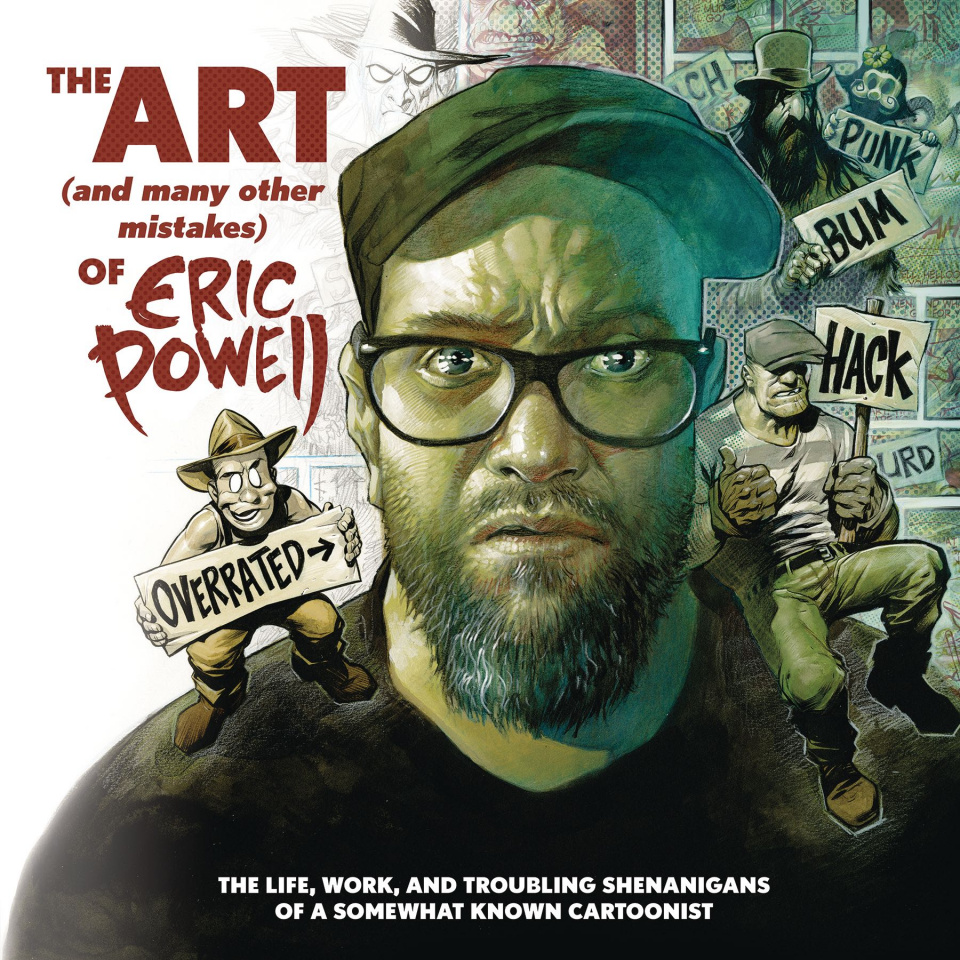 The Art (and Many Other Mistakes of) Eric Powell