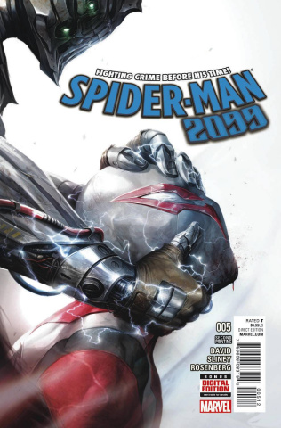 Spider-Man 2099 #5 (Mattina 2nd Printing)