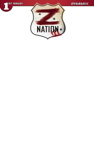 Z Nation #1 (Blank Authentix Cover)