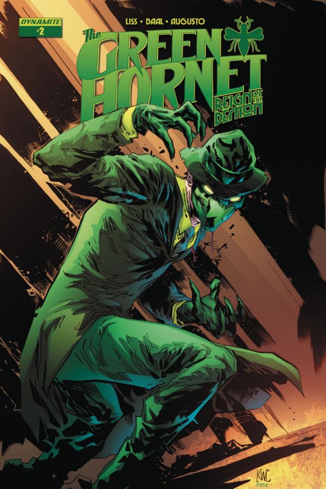 The Green Hornet: Reign of the Demon #2 (Lashley Cover)