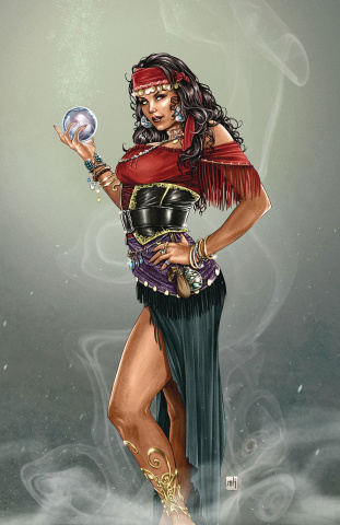 Grimm Fairy Tales #7 (Krome Cover)