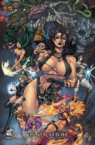 Aspen Universe: Decimation #4 (10 Copy Cover)