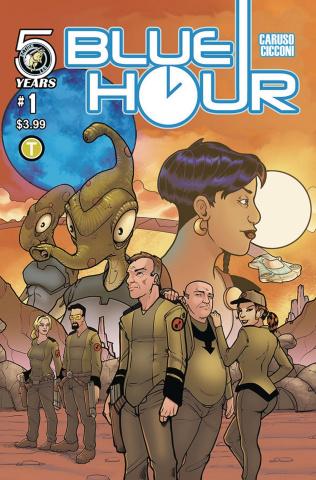 Blue Hour #1 (Cicconi Cover)