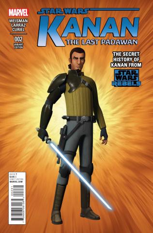 Kanan: The Last Padawan #2 (CGI Character Cover)