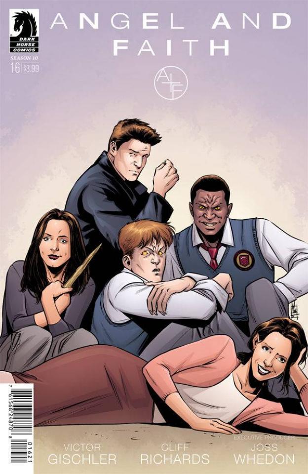 Angel and Faith, Season 10 #16 (Norton Cover)
