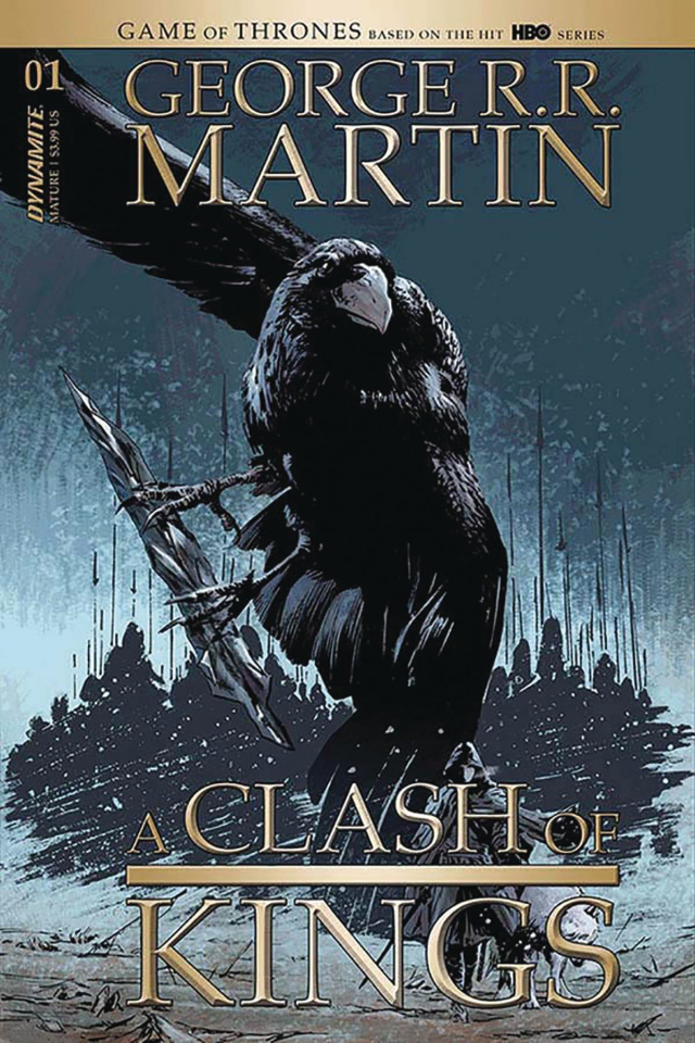 A Clash of Kings #1 (Guice Cover)