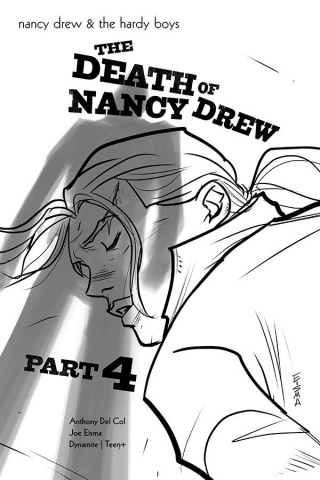 Nancy Drew & The Hardy Boys: The Death of Nancy Drew #4 (10 Copy Eisma Cover)