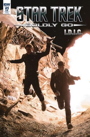 Star Trek: Boldly Go #17 (10 Copy Cover)