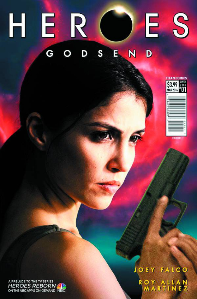 Heroes: Godsend #1 (Photo Cover)