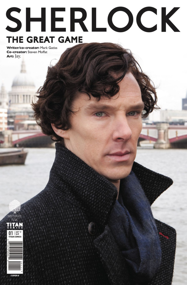 Sherlock: The Great Game #1 (Photo Cover)
