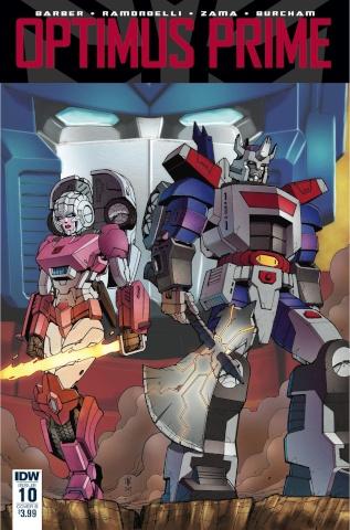 Optimus Prime #10 (Coller Cover)