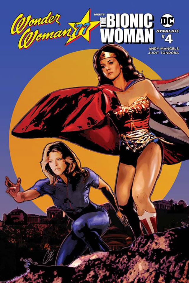 Wonder Woman '77 Meets The Bionic Woman #4 (10 Copy Cover)