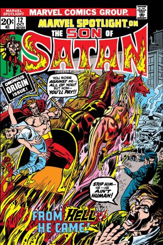 The Son of Satan #12 (Facsimile Edition)