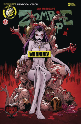 Zombie Tramp #49 (Celor Risque Cover)