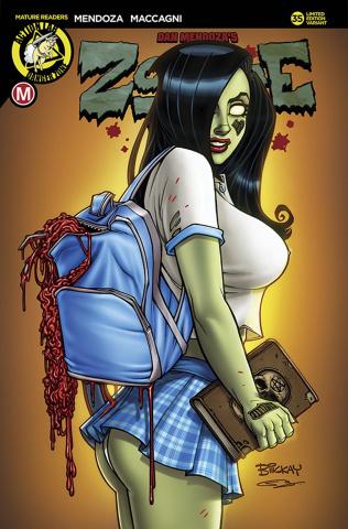 Zombie Tramp #35 (McKay Schoolgirl Cover)