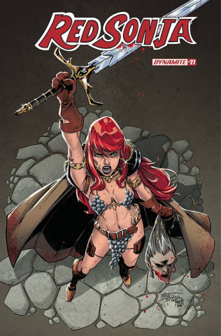 Red Sonja #27 (Miracolo Cover)