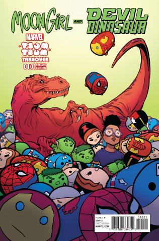 Moon Girl and Devil Dinosaur #10 (J. Jones Tsum Tsum Cover)