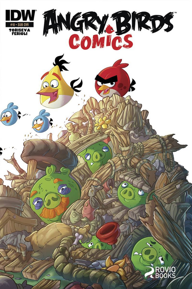 Angry Birds #10 (Subscription Cover)