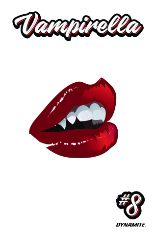 Vampirella #8 (7 Copy Richardson Cover)