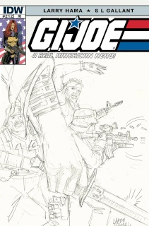 G.I. Joe: A Real American Hero #212 (10 Copy Cover)