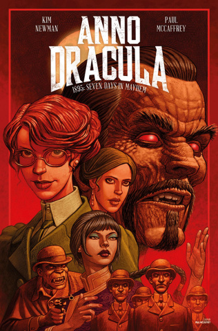 Anno Dracula #2 (McCaffrey Cover)