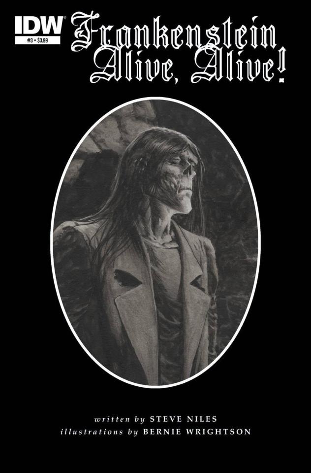 Frankenstein: Alive, Alive! #3