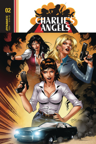 Charlie's Angels #3 (Cifuentes Cover)
