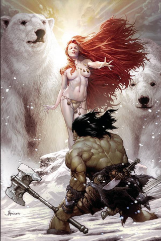 The Cimmerian: The Frost Giant's Daughter #1 (Anacleto Cover)