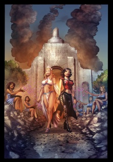 Grimm Fairy Tales: Realm War #3 (Rei Cover)