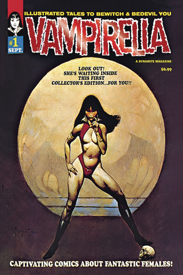 Vampirella #1 (1969 Replica Red Foil Cover)