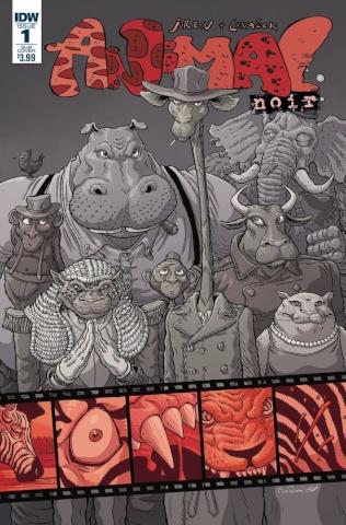 Animal Noir #1 (Subscription Cover)