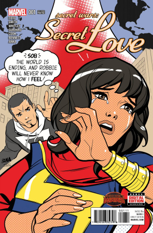 Secret Wars: Secret Love #1 (Nakayama 2nd Printing)