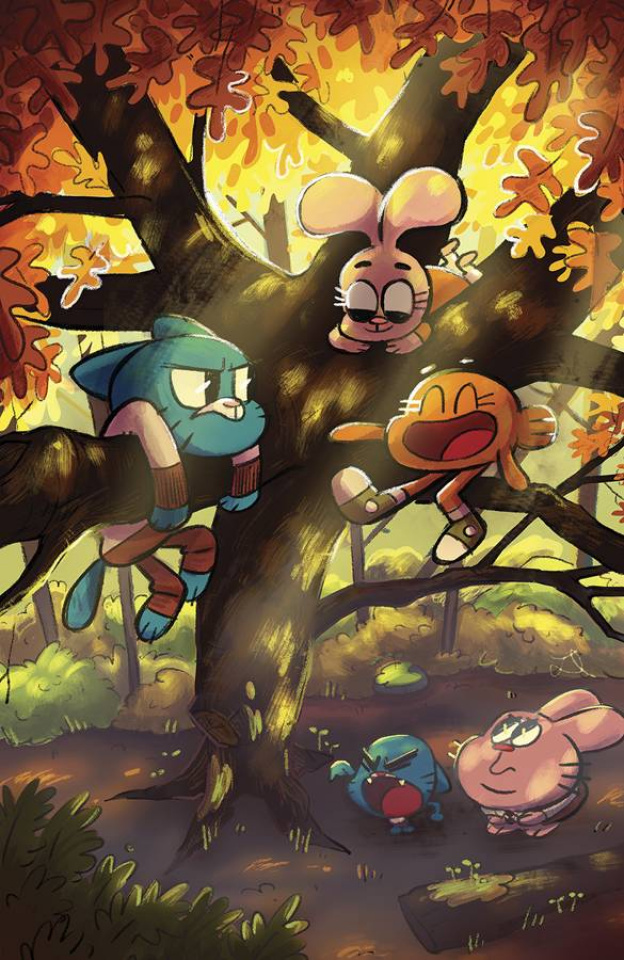 The Amazing World of Gumball #8 (20 Copy Duda Cover)