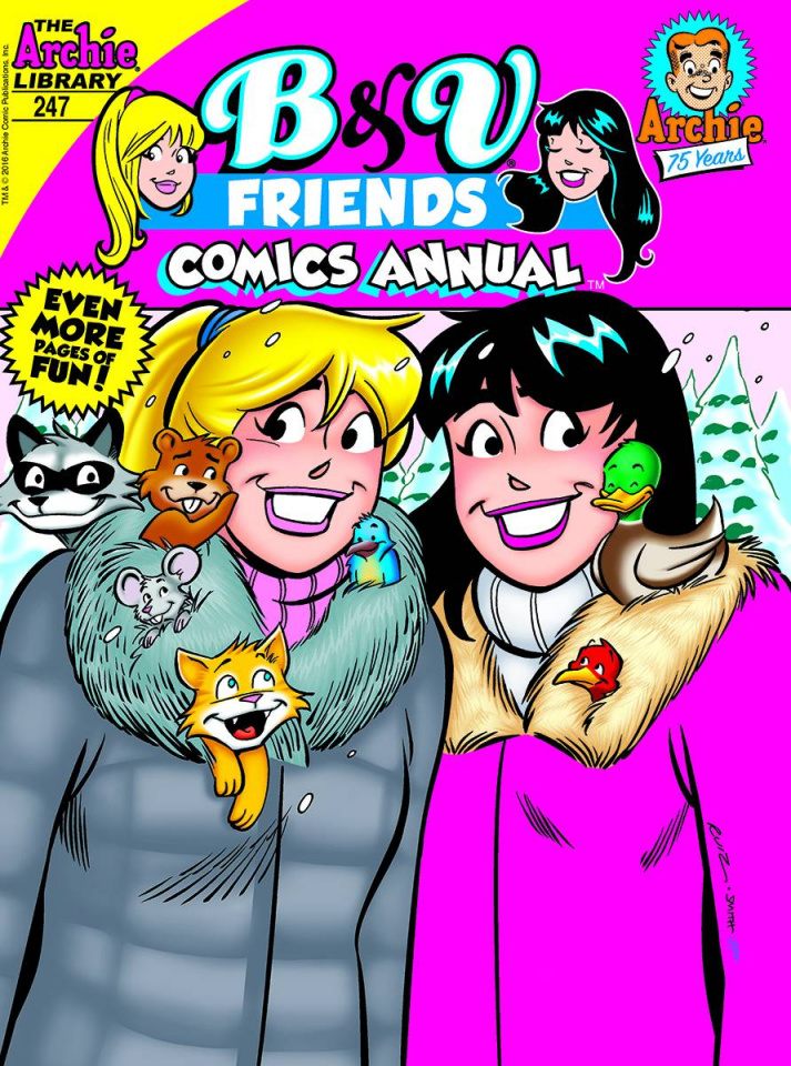 B & V Friends Comics Annual Digest #247