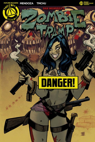 Zombie Tramp #23 (Trom Zombie Tramp Risque Cover)
