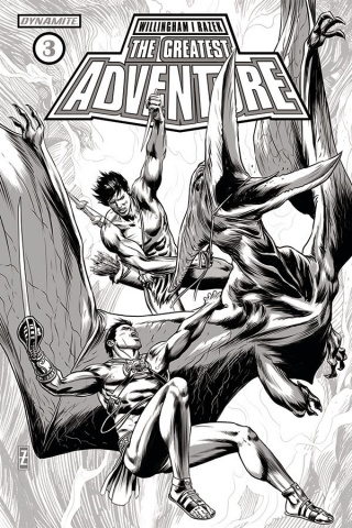 The Greatest Adventure #3 (20 Copy Zircher B&W Cover)