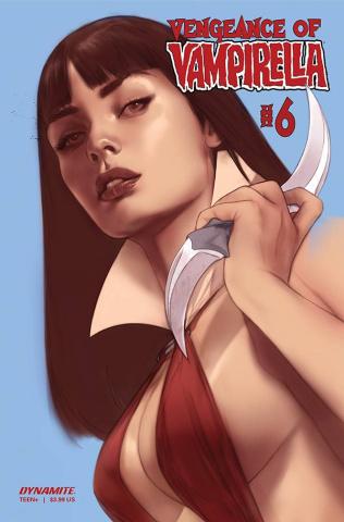 Vengeance of Vampirella #6 (CGC Graded Oliver Cover)