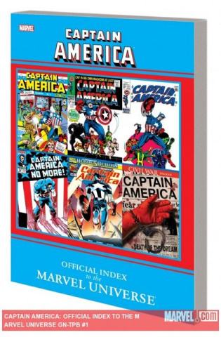 The Official Index To Marvel Universe: Captain America
