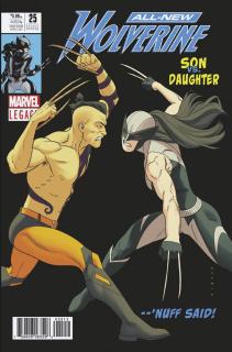 All-New Wolverine #25 (Anka 2nd Printing)