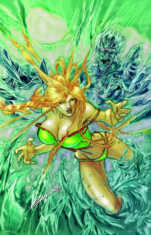 Grimm Fairy Tales #90 (Laiso Cover)