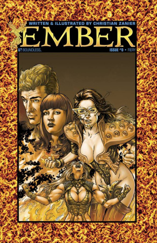 Ember #0 (Fiery Cover)