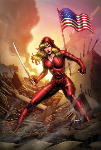 Grimm Fairy Tales: Red Agent - The Human Order #4 (Goh Cover)