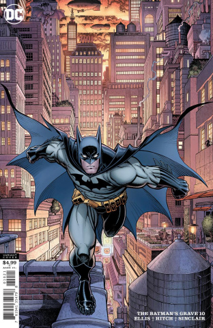 The Batman's Grave #10 (Arthur Adams Card Stock Cover)