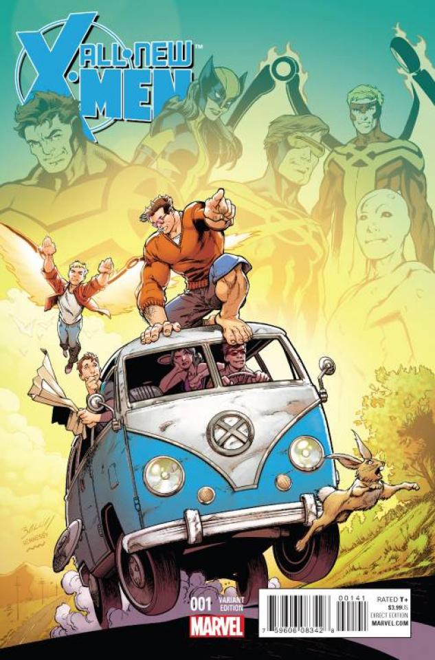 All-New X-Men #1 (Bagley Cover)