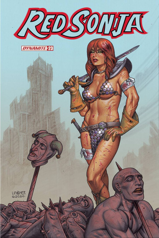Red Sonja #23 (Linsner Cover)