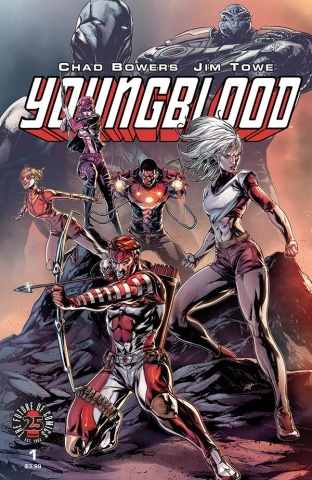 Youngblood #2 (White Cover)